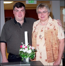 Sister Karen Hawkins took her final vows in August 2004 in a ceremony in Great Falls, Montana. She was serving in ministry as an addiction counselor at Gateway Treatment Center. Today she is director of campus ministry at the University of Great Falls.