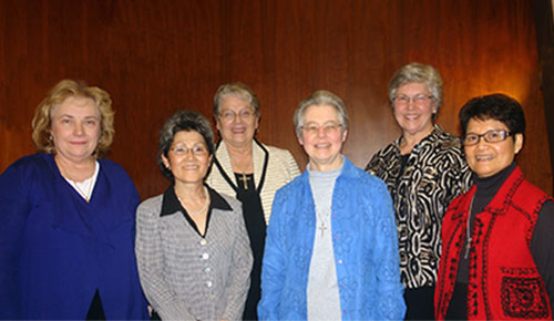 Sisters of Providence choose 2015-19 Leadership Team
