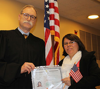 Salvadoran Sister of Providence becomes a U.S. citizen