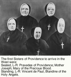 Foundresses of the Sisters of Providence
