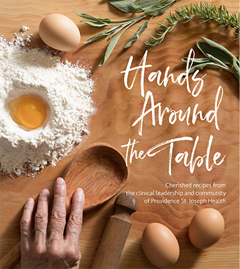 Hands Around the Table: A sacred gesture by the health system's clinical leaders