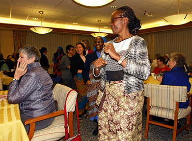 Sisters of Providence welcome Marie-Thérèse Gnamazo, of Cameroon, to the novitiate