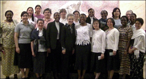 Temporary vows sisters and apostolic novices get to know each other in Montreal