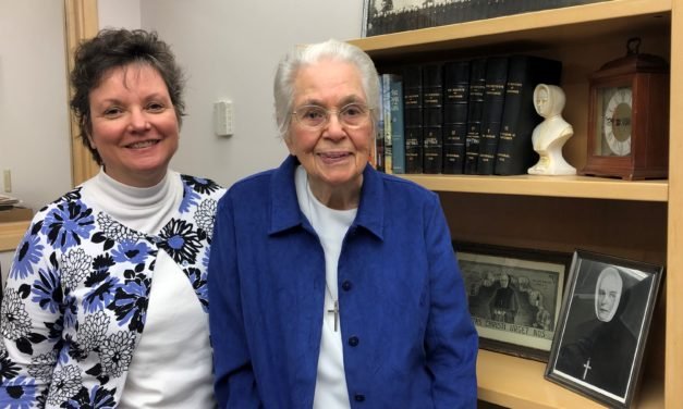 Providence archivist Loretta Greene celebrates a milestone