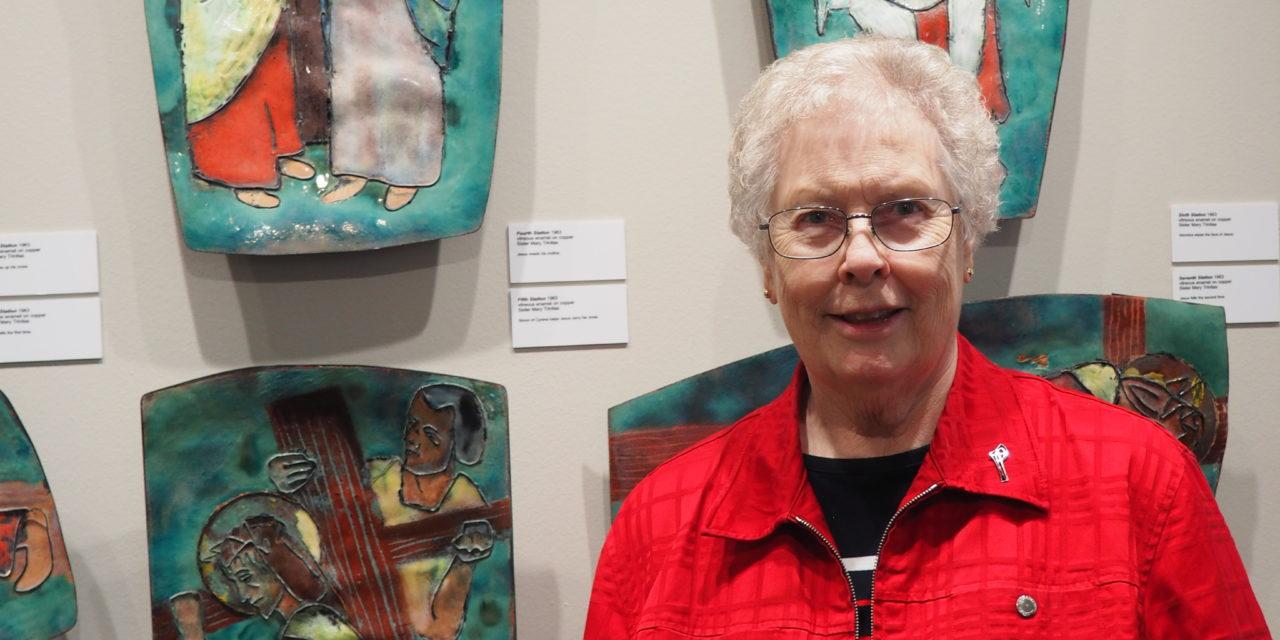 New Galerie Trinitas showcases the life and art of Sister Mary Trinitas
