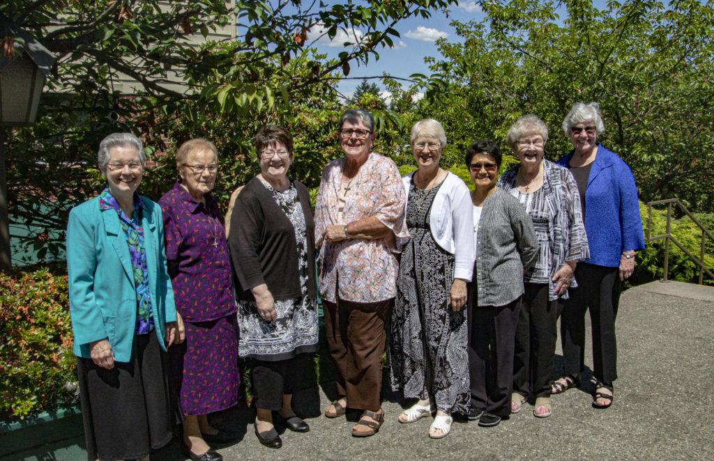 group of religious women