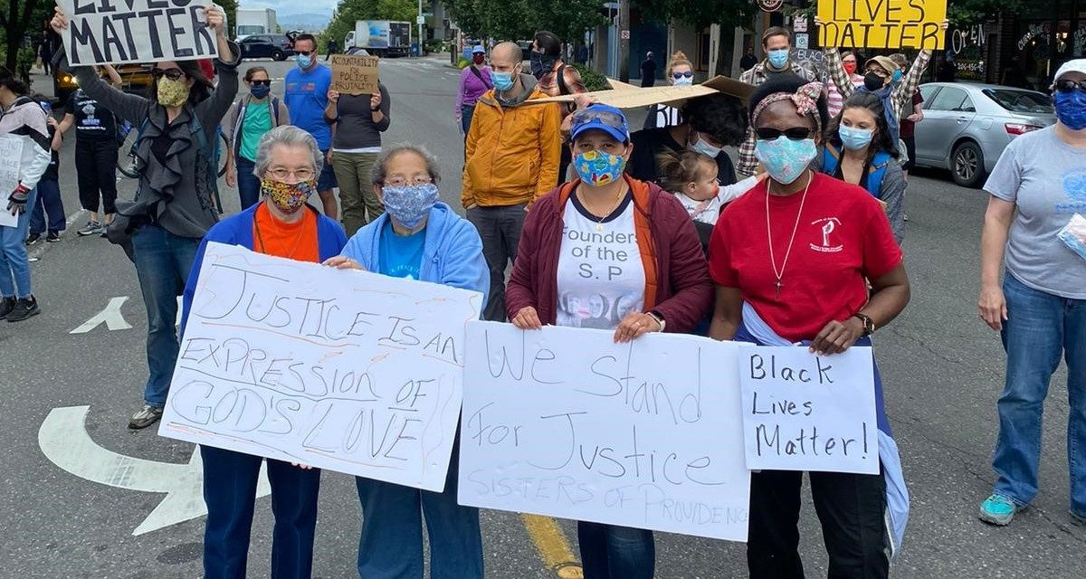 Sisters of Providence join Seattle protest