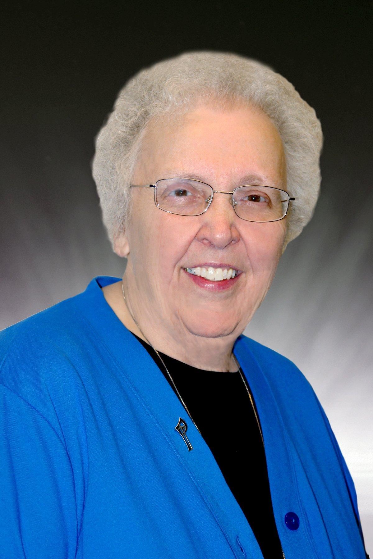 portrait of Sister Barbara