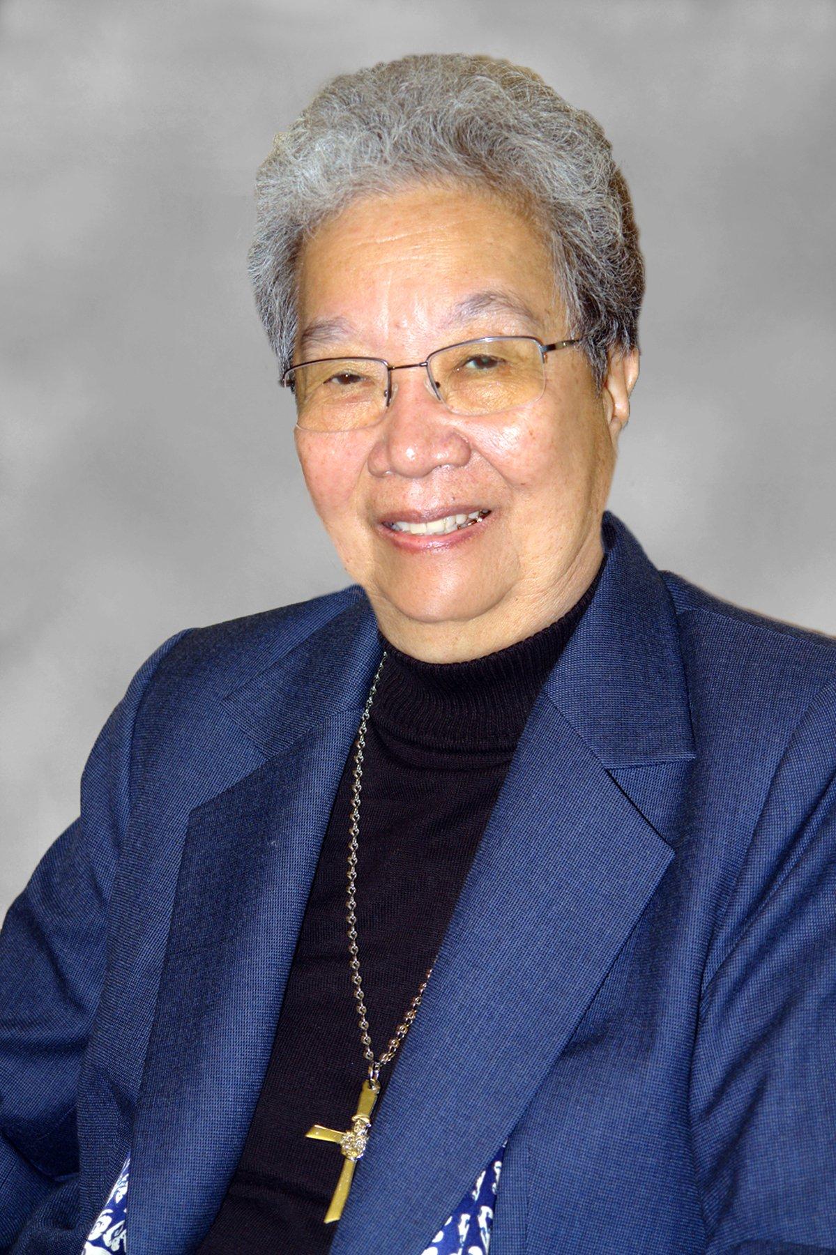 portrait of Sister Jacqueline