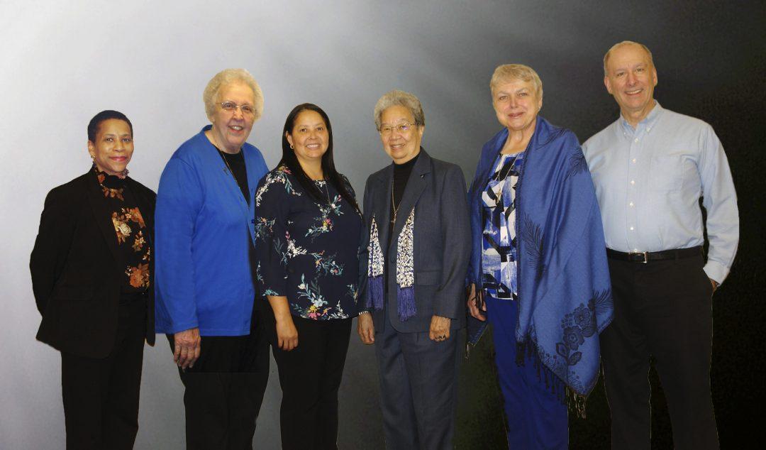 Sisters of Providence 2020-24 Leadership Team of six