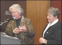 Sr. Karen Bell receives award