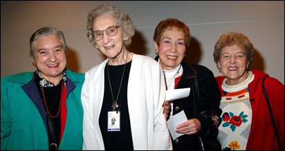 Sr. Mary Boland with friends