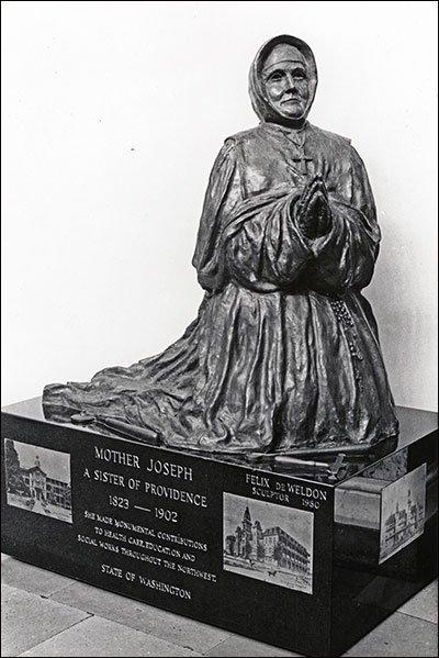 Mother Joseph memorial