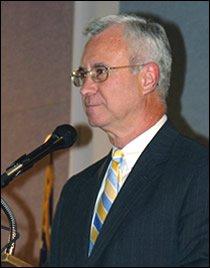 UGF President Eugene J. McAllisster