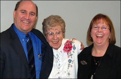 Sister Dorothy with Tim Serban and Ann Gibson
